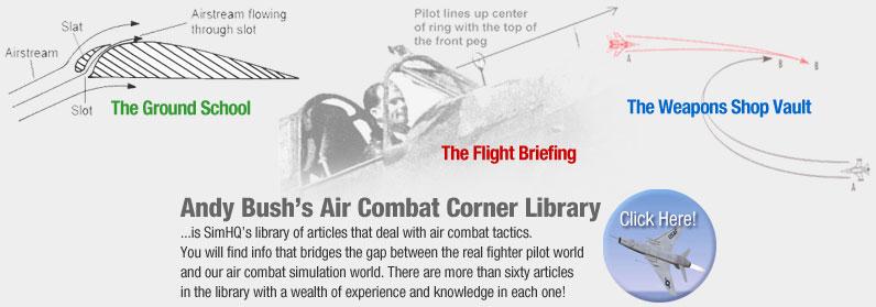 Air Combat Corner Library