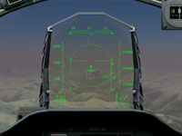 Lock from the HUD view with AMRAAM ready.