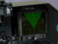 MFD radar symbology.