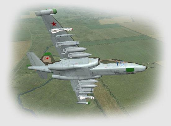 The Su-25 Frogfoot.