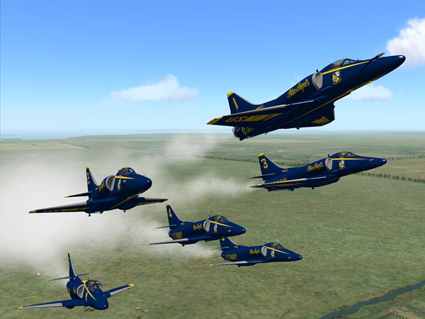 Virtual Blue Angel (VBA) team