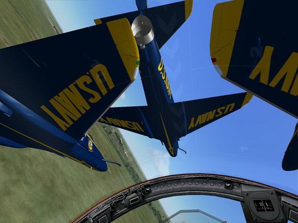 Virtual Blue Angel (VBA) team
