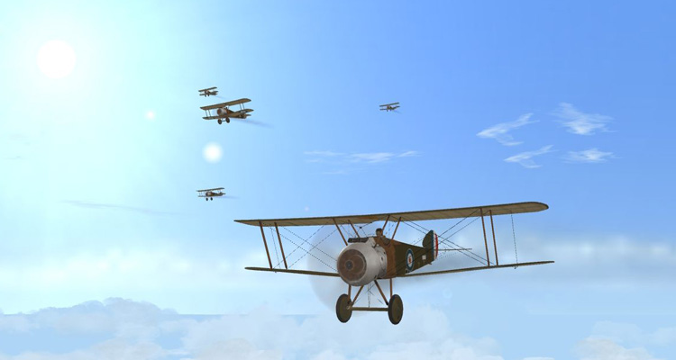Wings Over Flanders Fields - Flying Camels