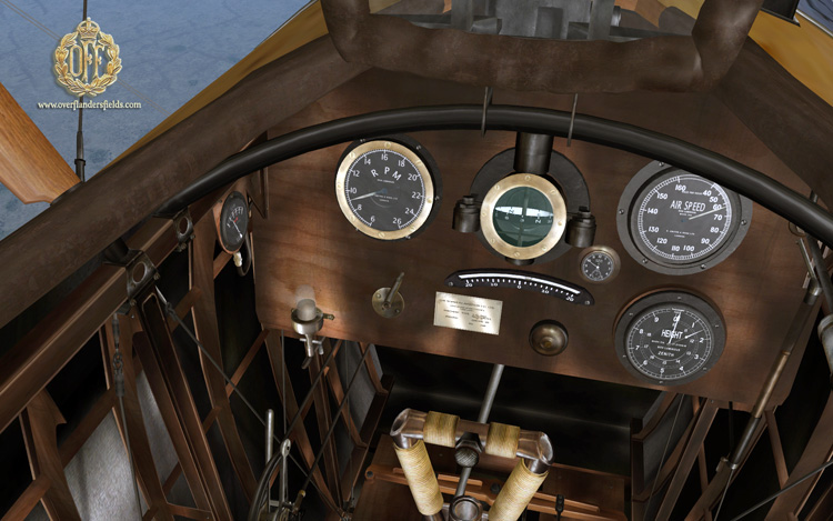 Wings Over Flanders Fields - Sopwith Pup cockpit