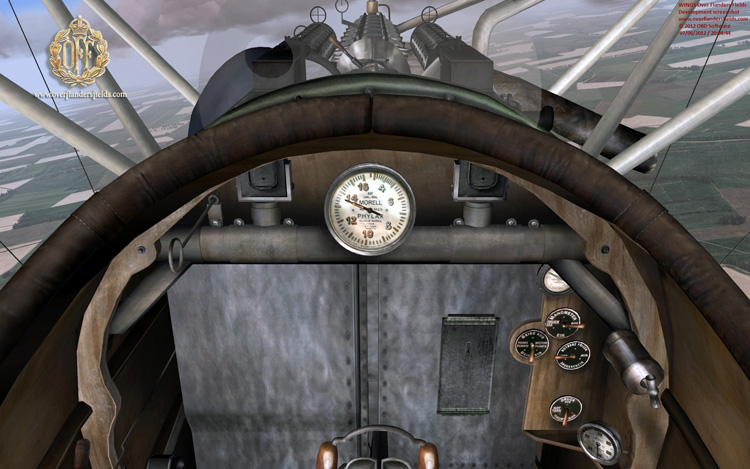 Wings Over Flanders Fields - Albatross DIII cockpit