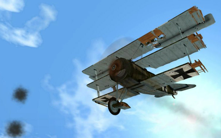 Wings Over Flanders Fields - Bits and pieces are falling off my aeroplane!