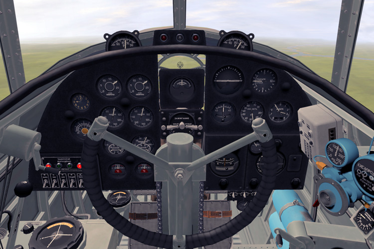 ...but the IL-4 cockpit looks fantastic and is great to fly.