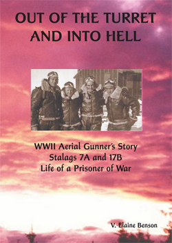Book cover: Out of the Turret and Into Hell