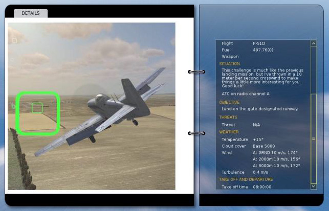 The DCS: P-51D Mustang Campaign Menu