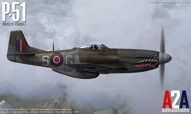 The A2A Accu-Sim P-51D