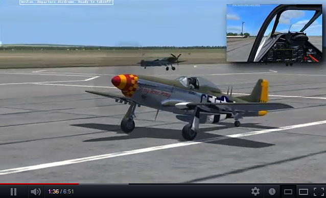 Video: DCS: P-51D Mustang Aerobatic Display