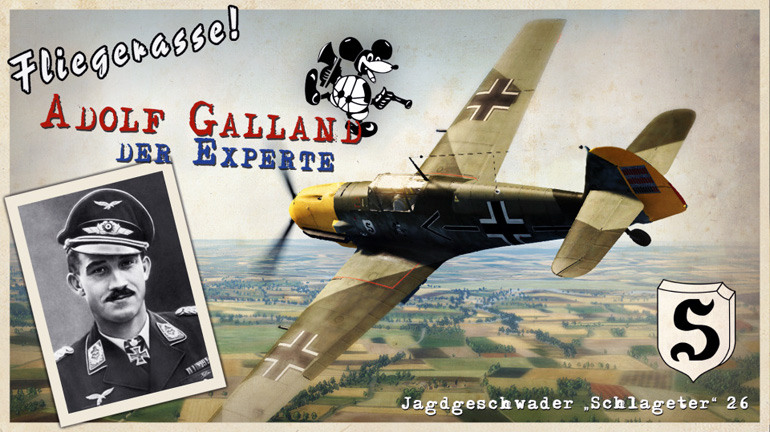 Adolf Galland, the Expert: A 36 mission campaign