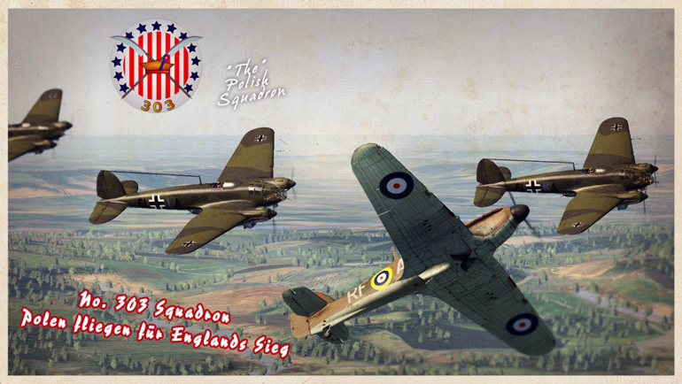 303 Squadron: A 36 mission campaign starting in Hurricanes out of Northolt, in the famous Polish RAF squadron
