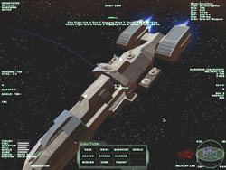 The cruiser had assumed position ahead of Devastator...