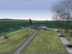 Falcon 11 radar hit.