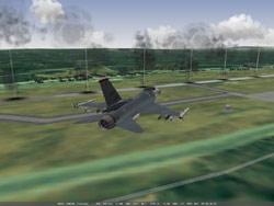 Falcon11 radar bomb run.