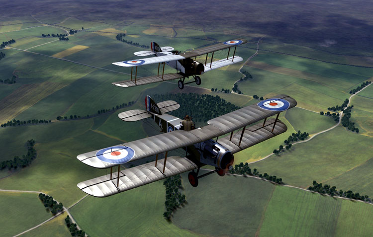 Rise of Flight really is WWI combat flight sim pr0n at it's finest.