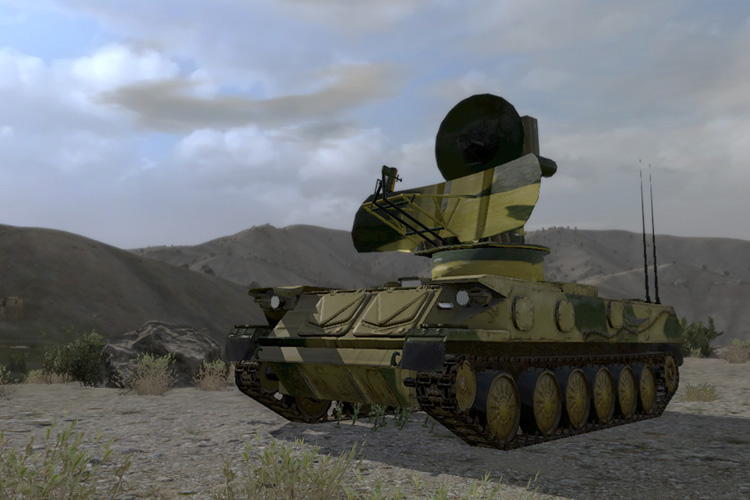 1S91 Fire Control Radar