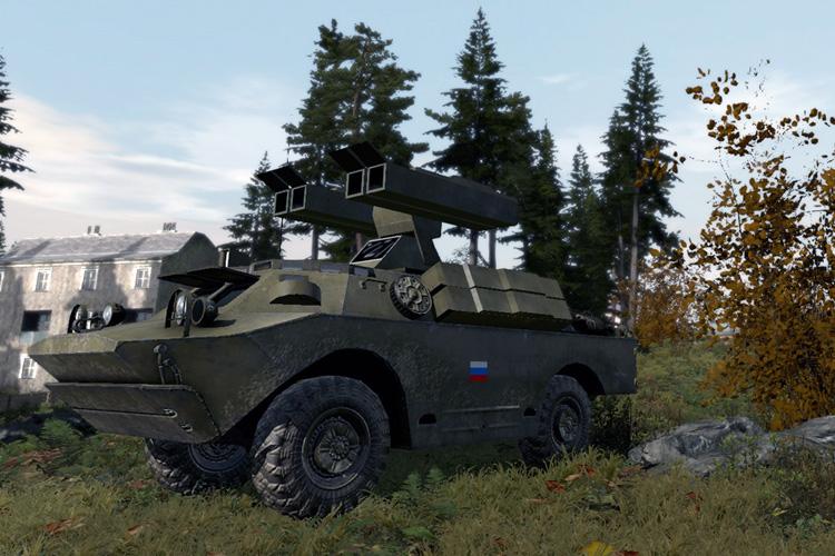 9K31 Strela-1 (SA9) SAM Unit