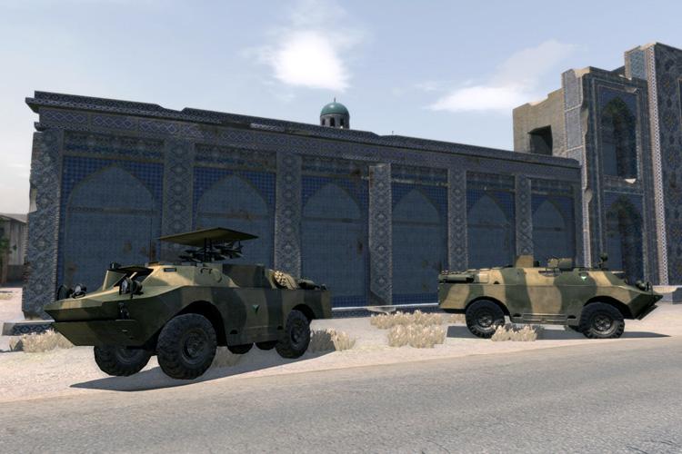 Improved BRDM2 Units