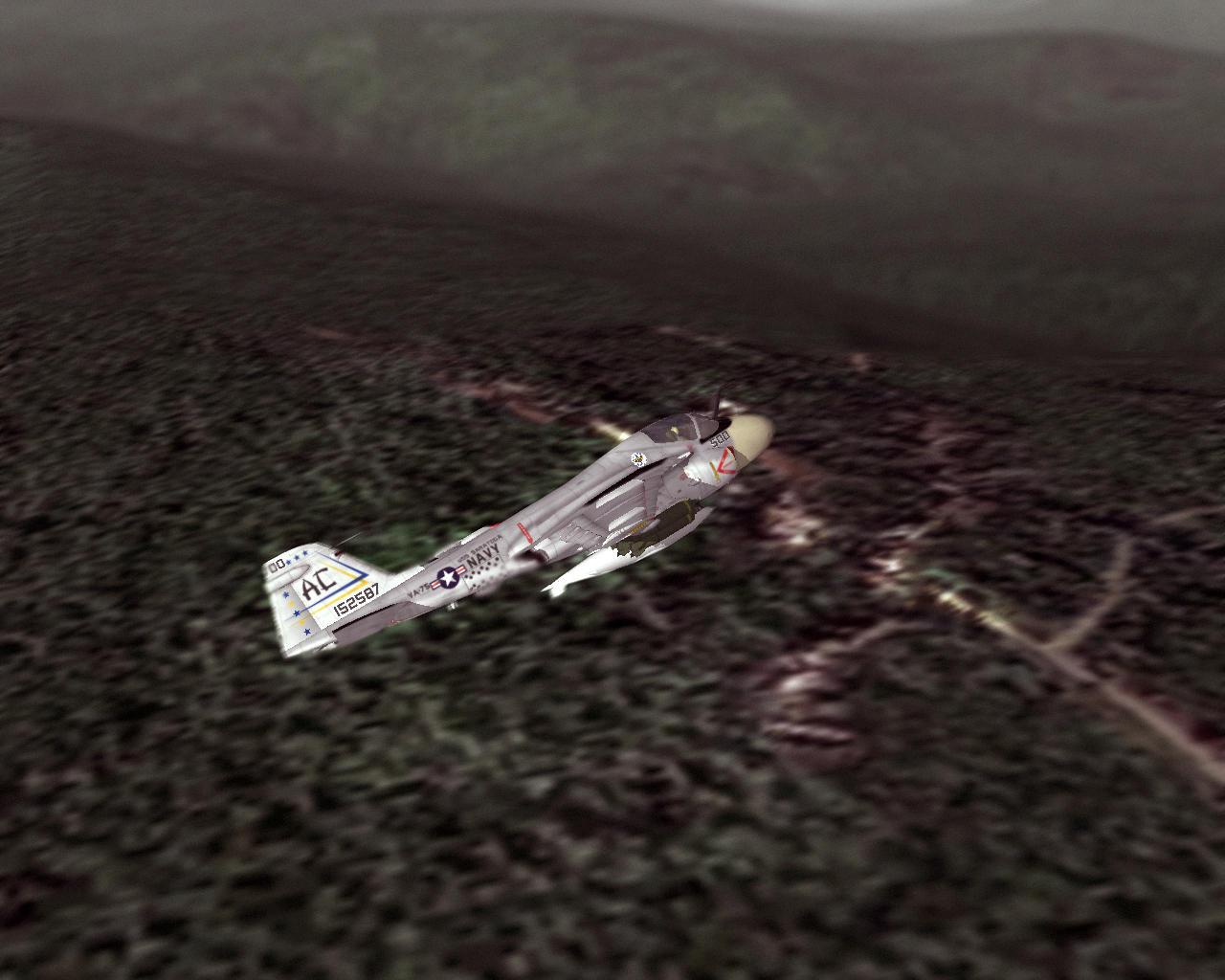 flight of the intruder ending a relationship