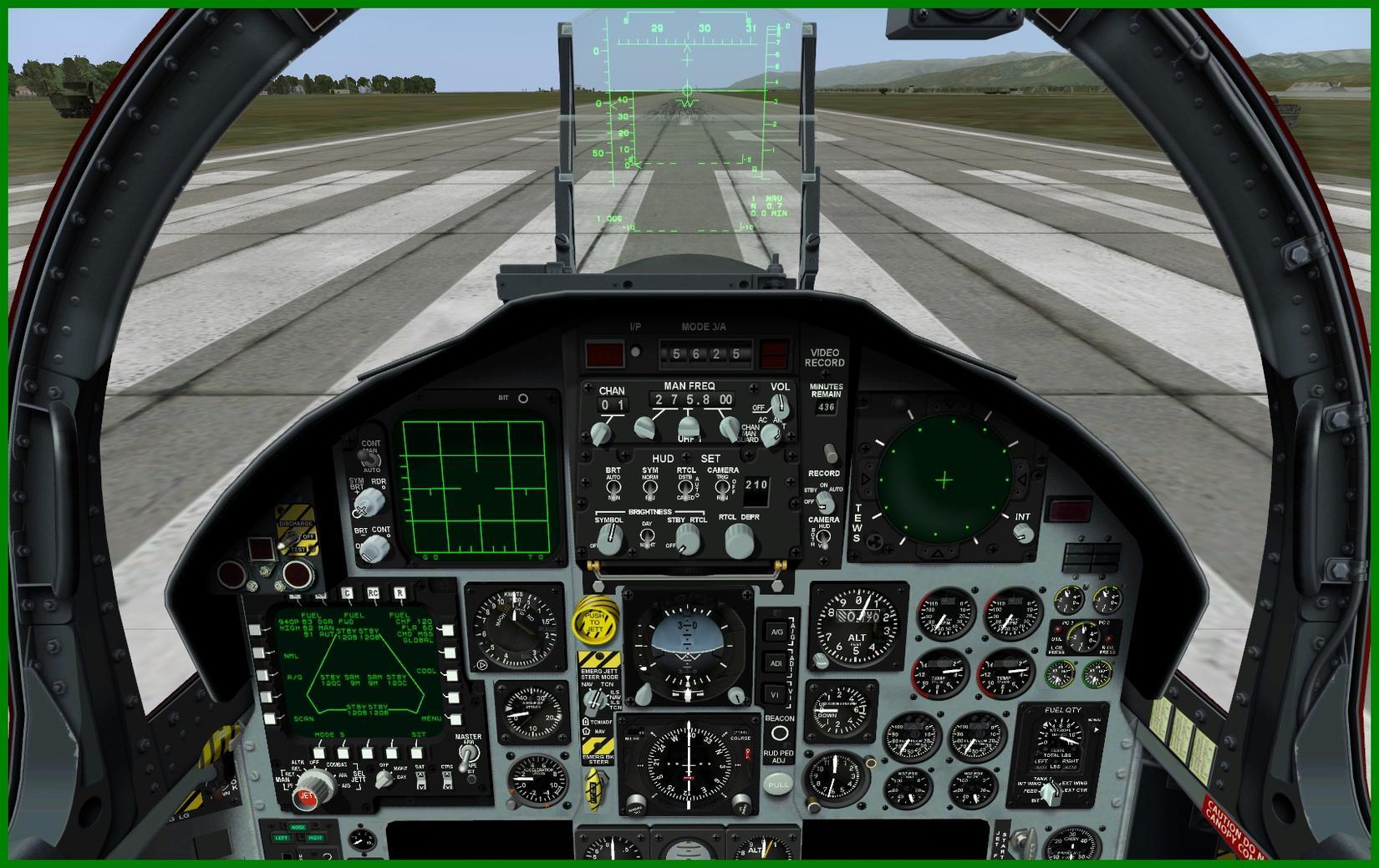 15 Eagle Cockpi... F 15 Cockpit