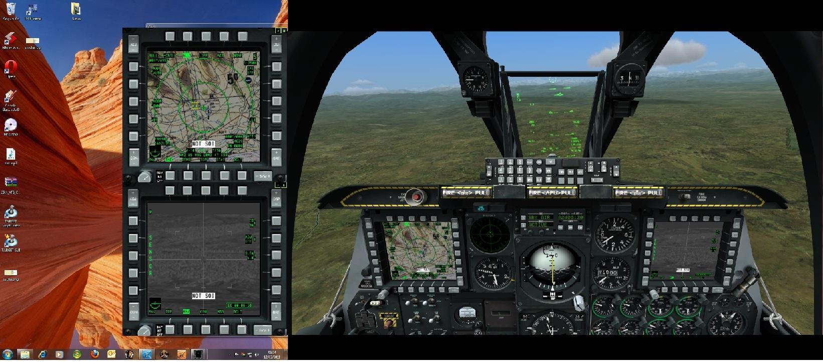 Mouse clickable MFCD's in multi-screen setups - SimHQ Forums