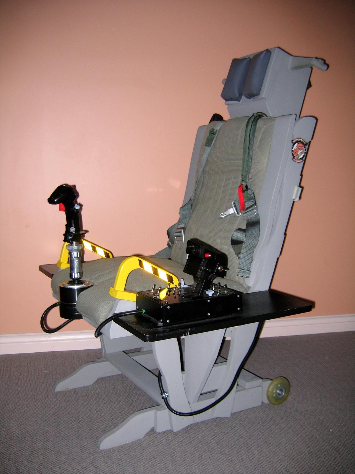 Tm Warthog Glider Rocker Sim Seat Mod Simhq Forums