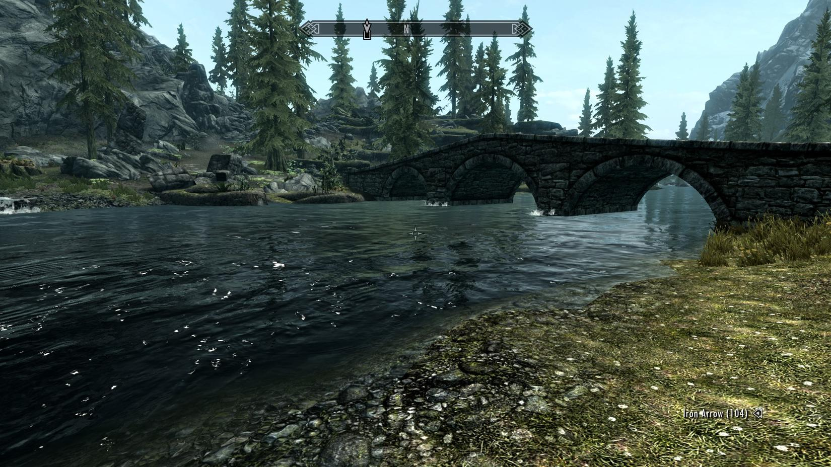 Skyrim with some graphics mods  - SimHQ Forums