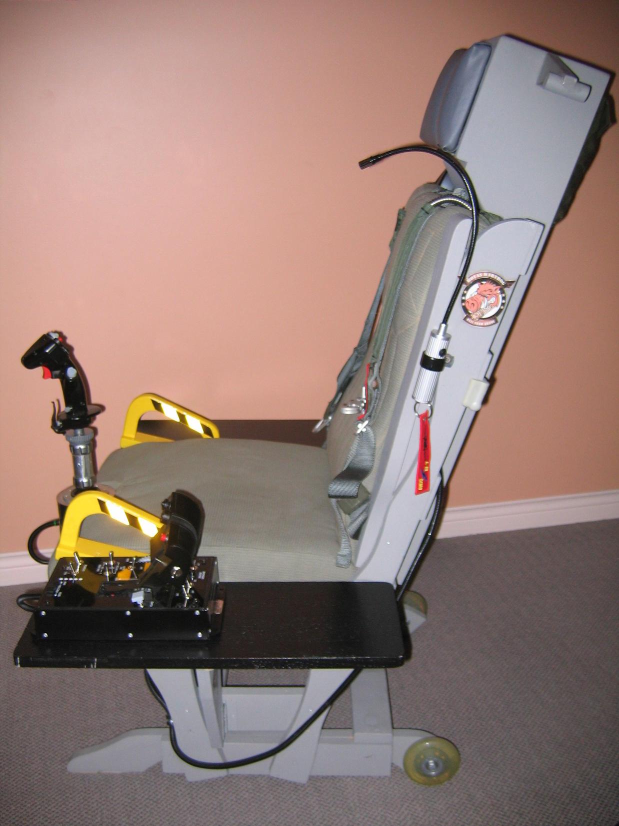 TM Warthog Glider Rocker Sim Seat Mod - SimHQ Forums