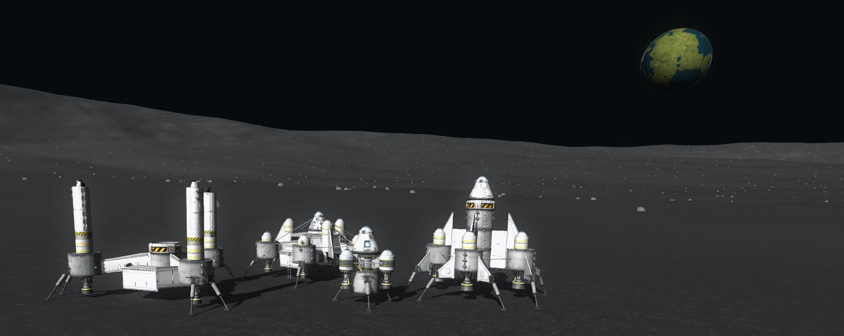 Kerbal Space Program: Munbase - SimHQ Forums