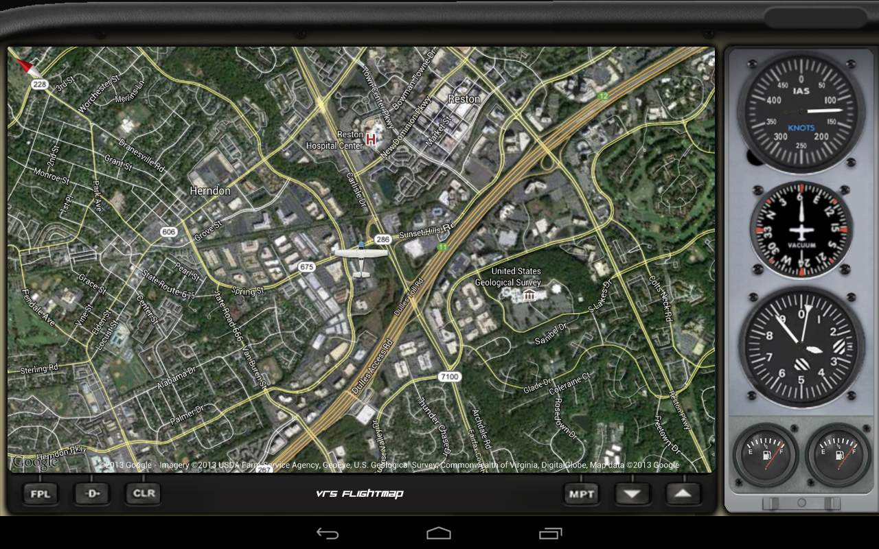 Flightmap Android Google Map Tracking With Flight Simulator X