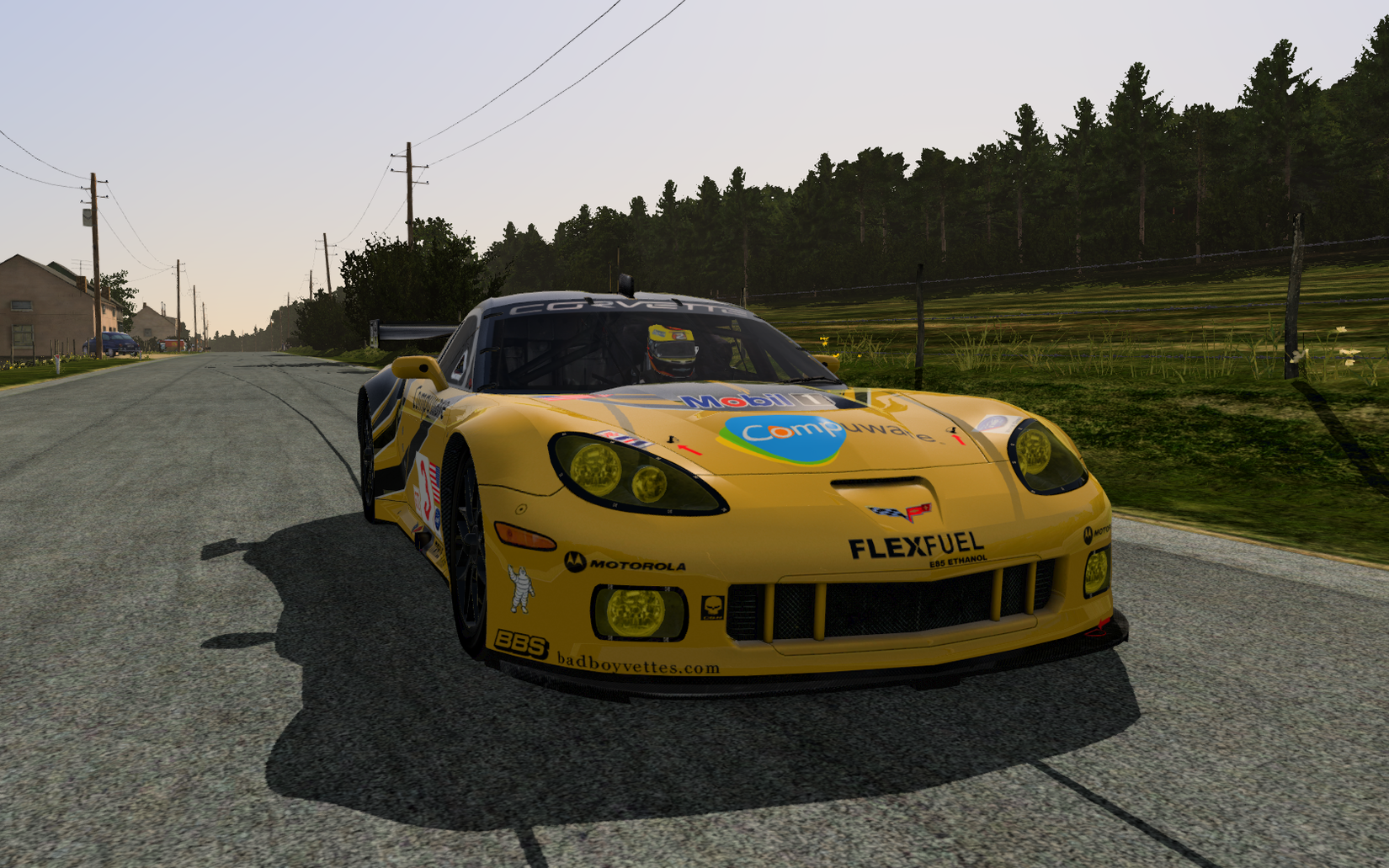 RFactor 2 Corvette: The Belgian Experience - SimHQ Forums