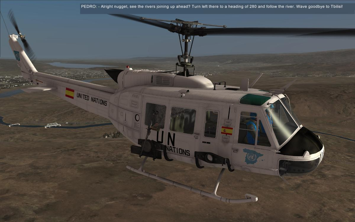 DCS UH-1H Huey, UN Campaign Mission #1 - SimHQ Forums