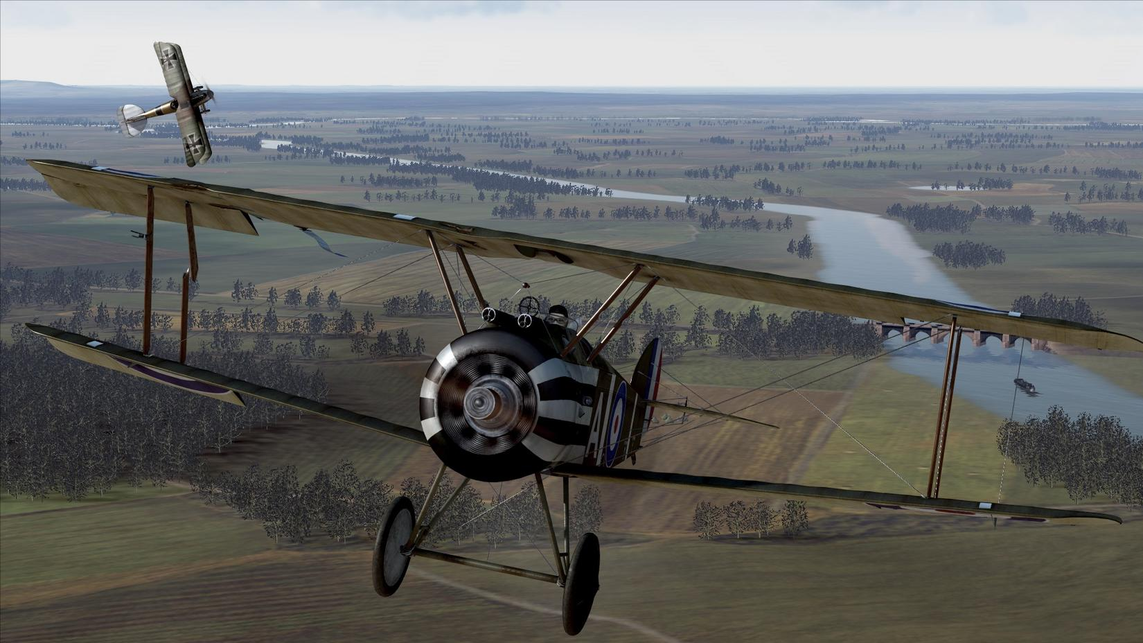 The First Aerial Combat Victory