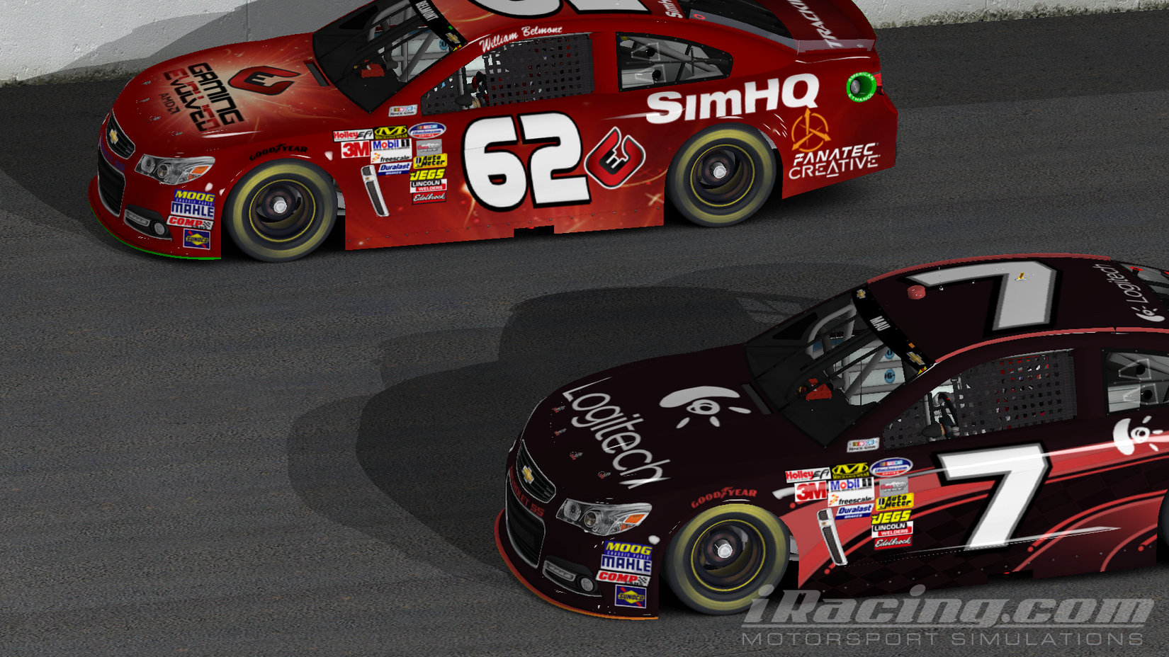 A Collection of iRacing NASCAR and Road Shots - SimHQ Forums