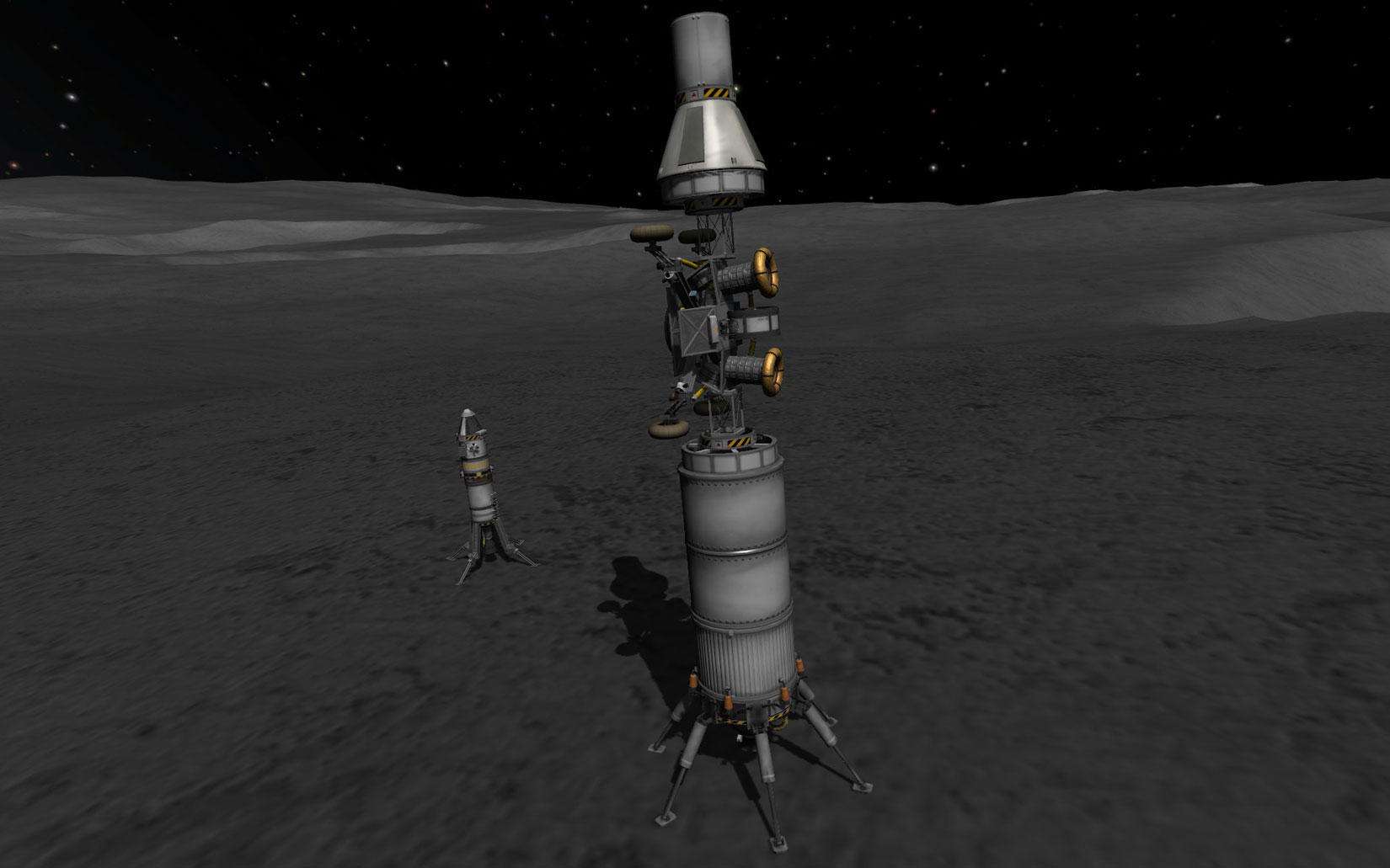 Kerbal Moon Rover - Pics about space