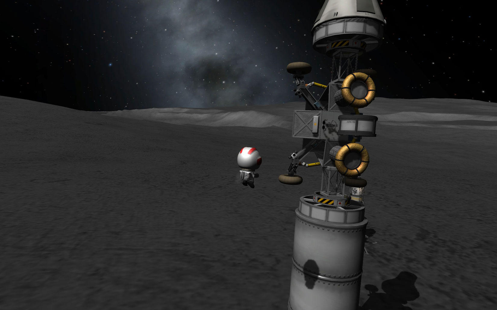Kerbal Space Program: Manned Moon Rover mission - SimHQ Forums