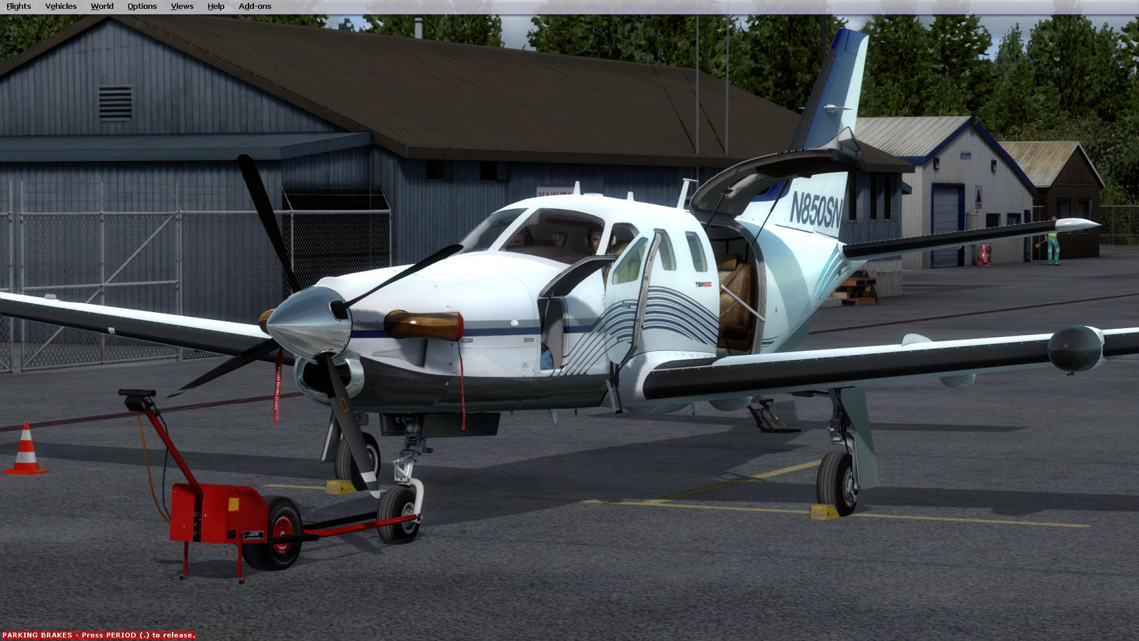 Another try   TBM 850 in P3D - SimHQ Forums