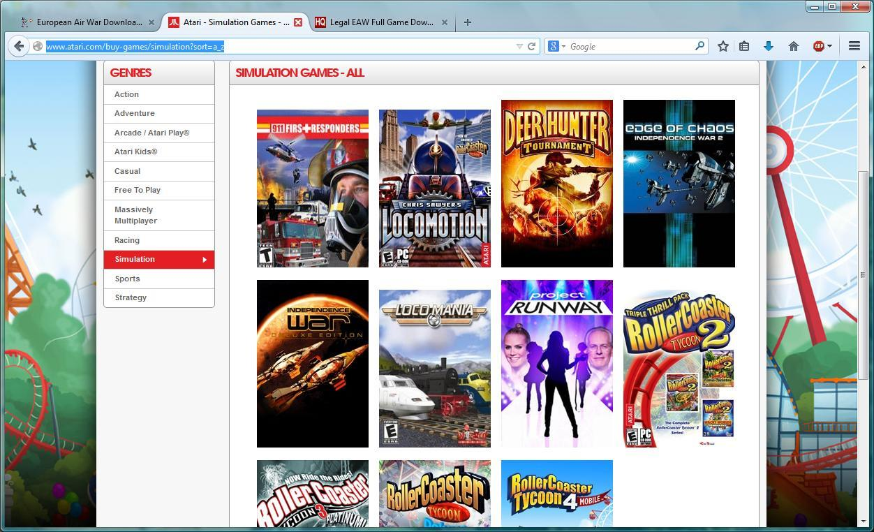 1000 s of free legal PC games