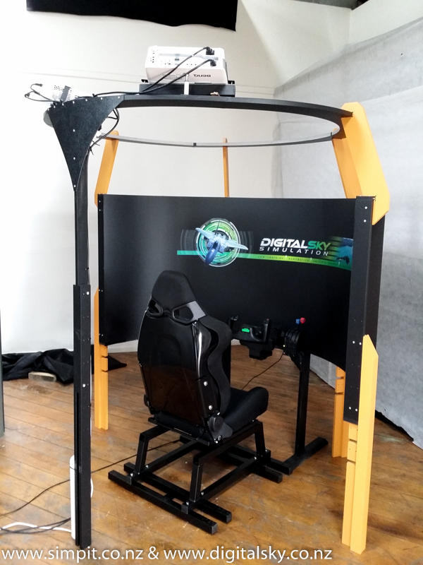 New VBS Icarus Curved Display System! - SimHQ Forums