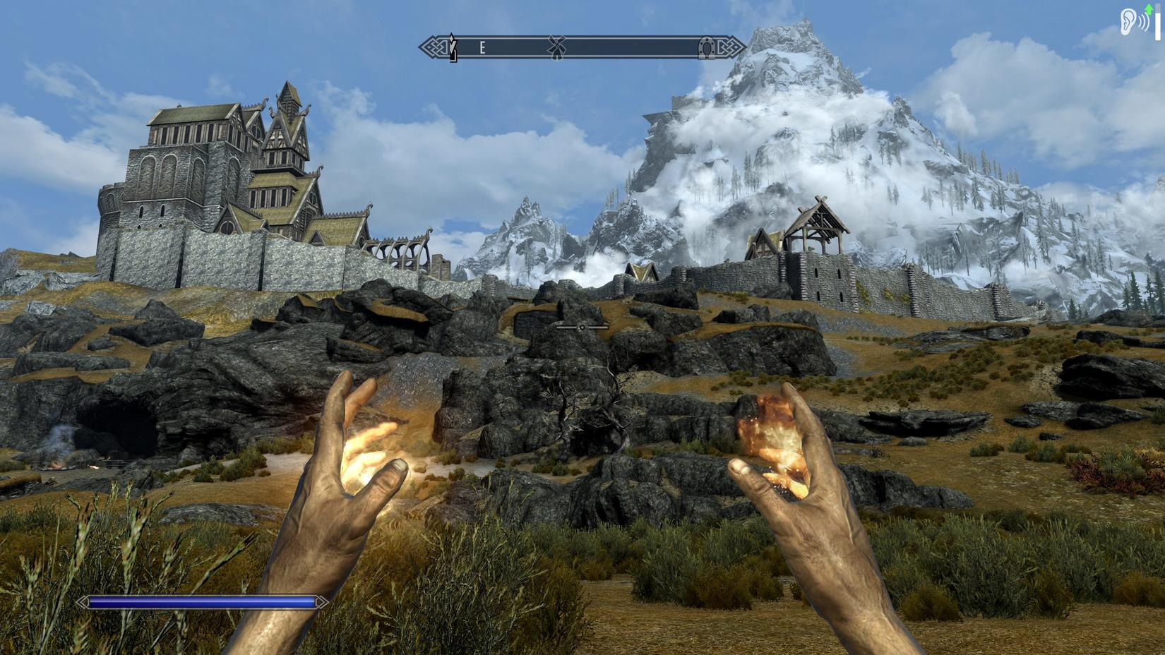 OT: Skyrim heavily modded and with higher textures - SimHQ Forums