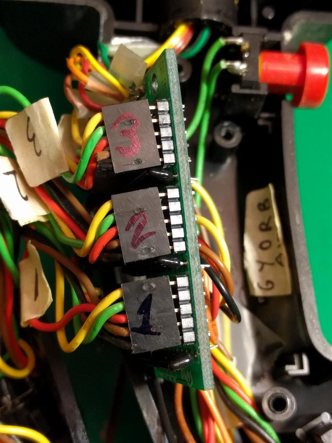F16 Flcs Tqs Original Usb Conversion Simhq Forums Electrical Wiring Registration Board Of Wires Have Fallen Off Switches Etc While On The Bench And Having Pics Has Saved Me From To Do Alot Googling Figure Out What