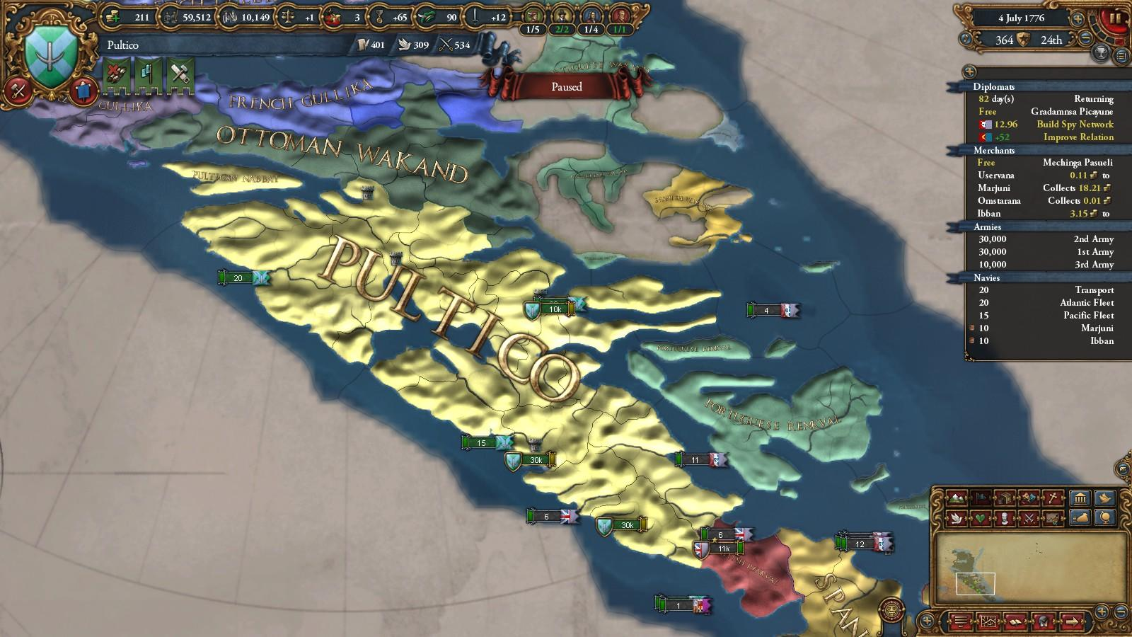 Europa Universalis, why no love 'round here? - SimHQ Forums