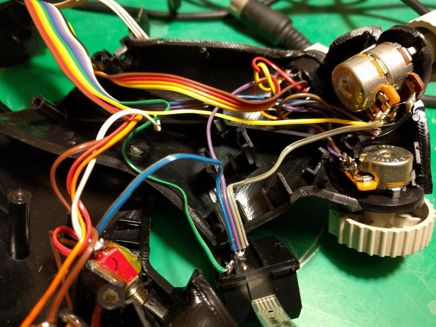 F16 Flcs Tqs Original Usb Conversion Simhq Forums Mamba Max Pro Wiring Diagram Of Wires Have Fallen Off Switches Etc While On The Bench And Having Pics Has Saved Me From To Do Alot Googling Figure Out What