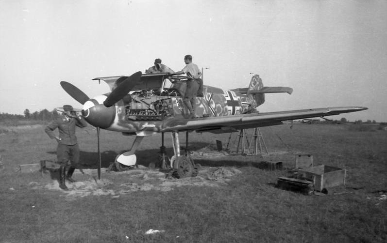 Attached picture Me 109 JG-54 Russia August 1941.jpg