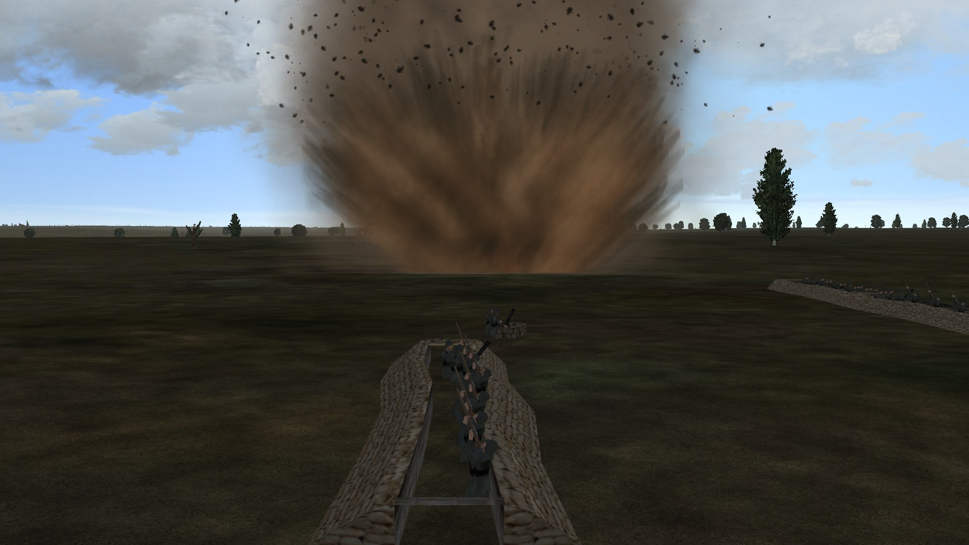 bombing trenches, infantry firing back.jpg