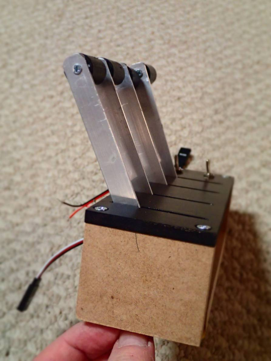 Homemade throttle unit - SimHQ Forums