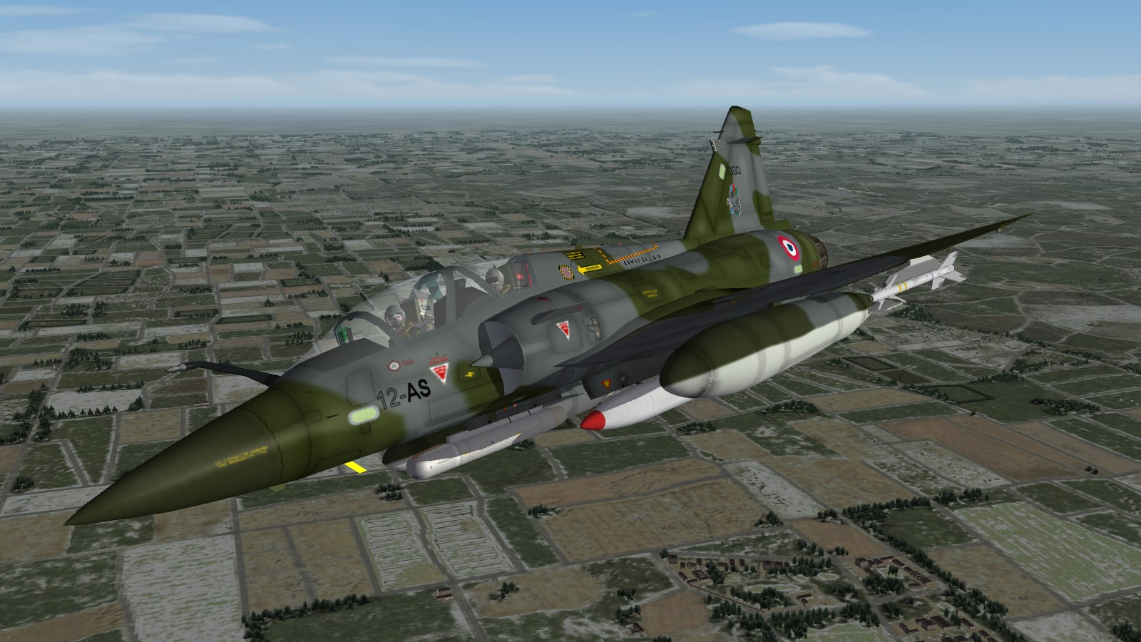 Has there ever been a flight sim with nuclear weapons