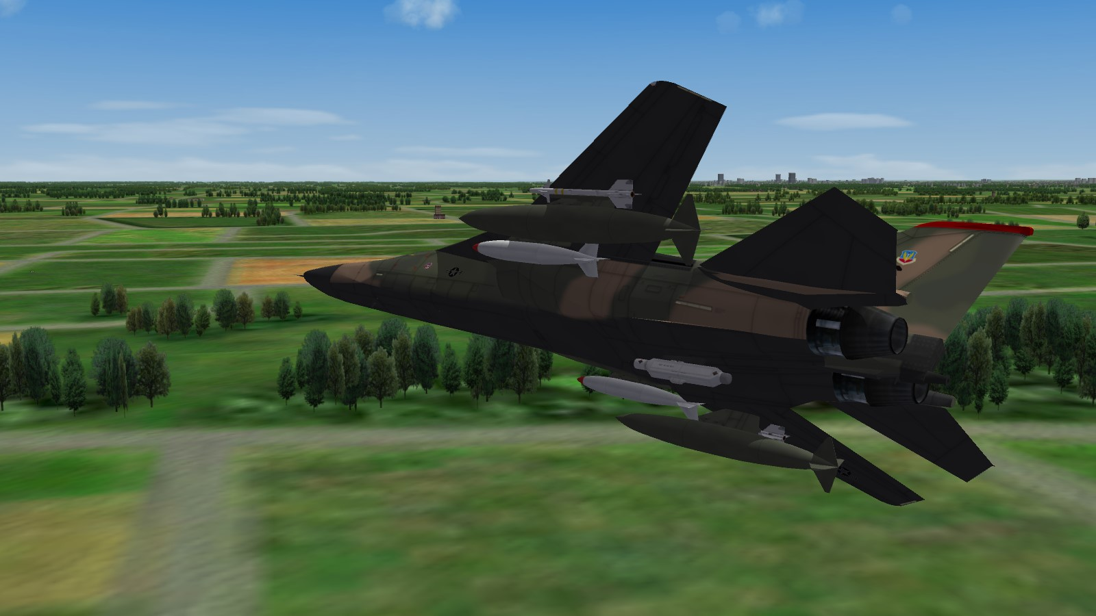 Has there ever been a flight sim with nuclear weapons? - SimHQ Forums